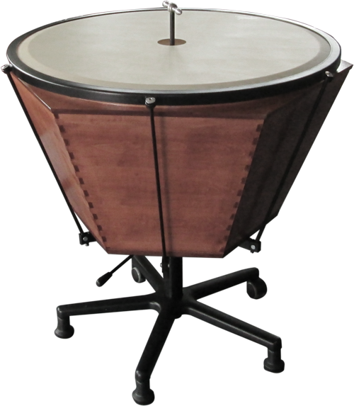 Spindle timpani